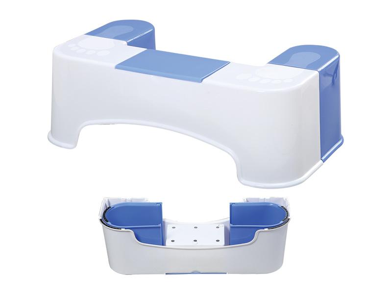 كرسي المرحاض مع انفصال مربع الأنسجة (hr0224)