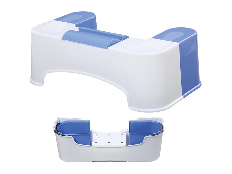 كرسي المرحاض قابل للفصل (hr0225) (علبة المناديل مع حامل الهاتف المحمول)